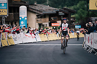 stage victory for Dan Martin (IRE/UAE)<br /> <br /> Stage 5: Grenoble > Valmorel (130km)<br /> 70th Critérium du Dauphiné 2018 (2.UWT)