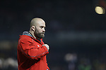 Wales conditioning coach Dan Baugh.<br /> RBS 6 Nations 2014<br /> Wales v France<br /> Millennium Stadium<br /> 21.02.14<br /> <br /> ©Steve Pope-SPORTINGWALES