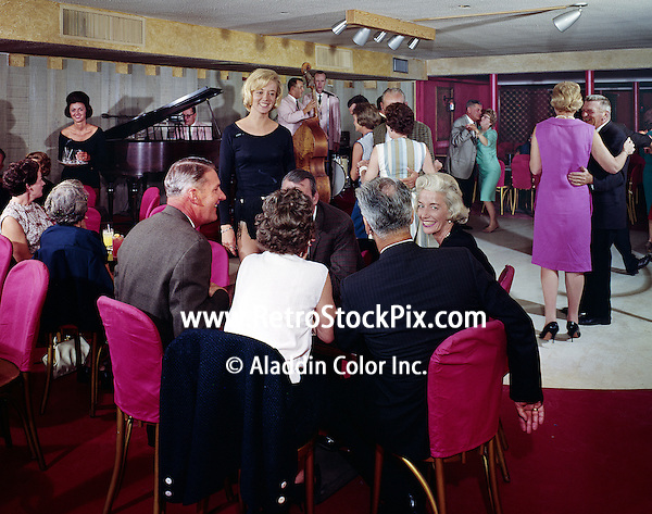 Couples being served in the lounge.