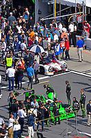 28-31 January, 2016, Daytona Beach, Florida USA<br /> On the grid, 2, Honda HPD, Ligier JS P2, P, Scott Sharp, Ed Brown, Joannes van Overbeek, Luis Felipe Derani, 60, Honda HPD, Ligier JS P2, P, John Pew, Oswaldo Negri, Jr., AJ Allmendinger, Olivier Pla<br /> ©2016, F. Peirce Williams