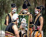 Face paint performers by Soegeng Wibowo