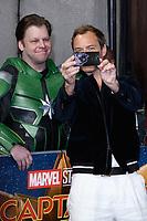 "Jude Law<br /> arriving for the ""Captain Marvel"" European premiere at the Curzon Mayfair, London<br /> <br /> ©Ash Knotek  D3484  27/02/2019"