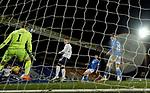 23.12.2020 St Johnstone v Rangers: Ianis Hagi scores past keeper Zander Clark