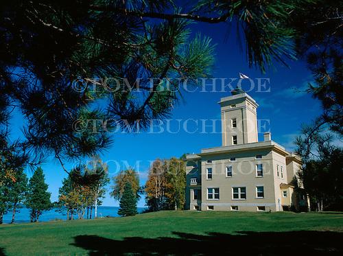 Sand Hills Lighthouse, Keweenaw county Michigan on Lake Superior.