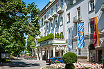 Deutschland, Bayern, Berchtesgadener Land, Bad Reichenhall: Hotel Wyndham Grand - Axelmannstein Hotel - in der Salzburger Strasse | Germany, Upper Bavaria, Berchtesgadener Land, Bad Reichenhall: Hotel Wyndham Grand - Axelmannstein Hotel - in Salzburger Strasse