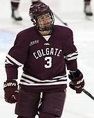 Ken Citron (Colgate - 3) - The visiting Colgate University Raiders shut out the Harvard University Crimson for a 2-0 win on Saturday, January 27, 2018, at Bright-Landry Hockey Center in Boston, Massachusetts.
