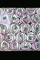 Mackintosh Collection: Hunterian Gallery, U. of Glasgow. Textile Design c. 1916-23.