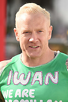 Iwan Thomas<br /> at the start of the 2016 London Marathon, Blackheath, Greenwich London<br /> <br /> <br /> ©Ash Knotek  D3108 24/04/2016