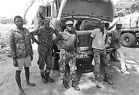 - Mozambique 1993, village occupied by anti-government rebels of RENAMO in the province of Sofala<br /> <br /> - Mozambico 1993,  villaggio occupato da ribelli antigovernativi della RENAMO in provincia di Sofala
