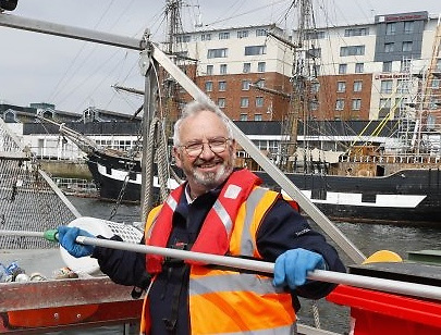 The Irish Nautical Trust may have been functioning for years, but Jimmy Murray's enthusiasm is unabated