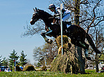 April 26, 2014: PIRATE, ridden by Meghan O'Donoghue (USA), competes in the Cross County Test at the Rolex Kentucky 3-Day Event at the Kentucky Horse Park in Lexington, KY  Scott Serio/ESW/CSM