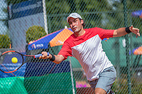 Etten-Leur, The Netherlands, August 27, 2017,  TC Etten, NVK, Floris Killian (NED)<br /> Photo: Tennisimages/Henk Koster