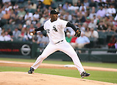 Jose Contreras of the Chicago White Sox vs. the Florida Marlins: June 19th, 2007 at Wrigley Field in Chicago, IL.  Photo copyright Mike Janes Photography 2007.