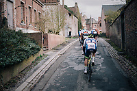 Aimé De Gendt (BEL/Wanty-Gobert) following every move<br /> <br /> 51th Le Samyn 2019 <br /> Quaregnon to Dour (BEL): 200km<br /> <br /> ©kramon