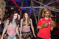 Halloween party at The Hiro Ballroom, Maritime Hotel in Chelsea