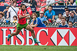 France vs Portugal on Bowl Quarter Finalduring the Cathay Pacific / HSBC Hong Kong Sevens at the Hong Kong Stadium on 30 March 2014 in Hong Kong, China. Photo by Juan Flor / Power Sport Images