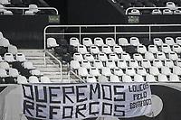 Rio de Janeiro (RJ), 25/04/2021 - BOTAFOGO-MACAÉ - Partida entre Botafogo e Macaé, válida pela decima primeira rodada da Taça Guanabara, realizada no Estádio Nilton Santos (Engenhão), no Rio de Janeiro, neste domingo (25).