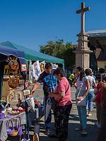 Händler   beim Traubenfest, Vrsac, Vojvojina, Serbien, Europa