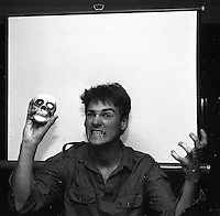 Scary Trent Nelson from a very dusty negative, 1987.  &#xA;<br />