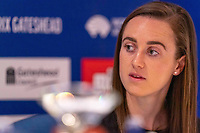 22nd May 2021; Hilton Hotel, Gateshead , England; Diamond League Muller Athletics Grand Prix Gateshead press conference; Laura Muir answers questions from the press, ruling out running the 5000m in Tokyo but keeping options open for 800 or 1500m