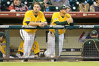 Baylor loss 4023 (Andrew Woolley).jpg. NCAA baseball, Houston College Classic. Baylor Bears vs Rice Owls. Minute Maid Park. March 1st, 2009 in Houston, Texas. Photo by Andrew Woolley.