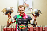 Conor Kissane of the Killarney Cycling Club, (League and Championship Winner) of the Cyclings County Championship ceremony at the Manor West Hotel on Thursday night.