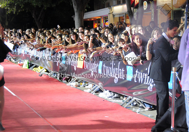 """Taylor Lautner at Summit Entertainment's highly anticipated Premiere of """"Twilight"""" held at The Mann's Village Theatre in Westwood, California on November 17,2008                                                                     Copyright 2008 Debbie VanStory/RockinExposures"""