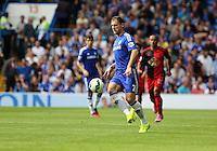 Pictured: Branislav Ivanovic of Chelsea. Saturday 13 September 2014<br /> Re: Premier League Chelsea FC v Swansea City FC at Stamford Bridge, London, UK.