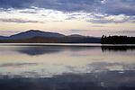 July dawn on Moosehead Lake, ME at Burnt Jacket Point.