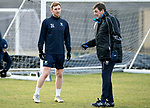 St Johnstone Training….25.01.19          McDiarmid Park<br />Liam Craig pictured with manager Tommy Wright during training this morning after signing a contract extension keeping him at saints.<br />Picture by Graeme Hart.<br />Copyright Perthshire Picture Agency<br />Tel: 01738 623350  Mobile: 07990 594431