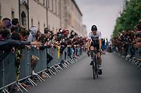 Geraint Thomas (GBR/SKY) at the Team presentation in La Roche-sur-Yon<br /> <br /> Le Grand Départ 2018<br /> 105th Tour de France 2018<br /> ©kramon
