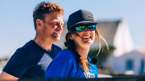 Kenny Rumball and Pamela Lee who have moved up to 13th place in this week's 21-boat Sardinha Cup offshore race are one of three Irish mixed keelboat campaigns aiming for Paris 2024, a new Olympic class awaiting IOC approval in May
