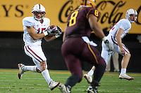 TEMPE, AZ - November 13, 2010: Usua Amanam during a football game at Arizona State University in Tempe, Arizona. Stanford won 17-13.