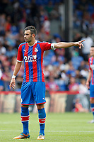 Luka Milivojevic of Crystal Palace gesturing during the pre season friendly match between Crystal Palace and Hertha BSC at Selhurst Park, London, England on 3 August 2019. Photo by Carlton Myrie / PRiME Media Images.