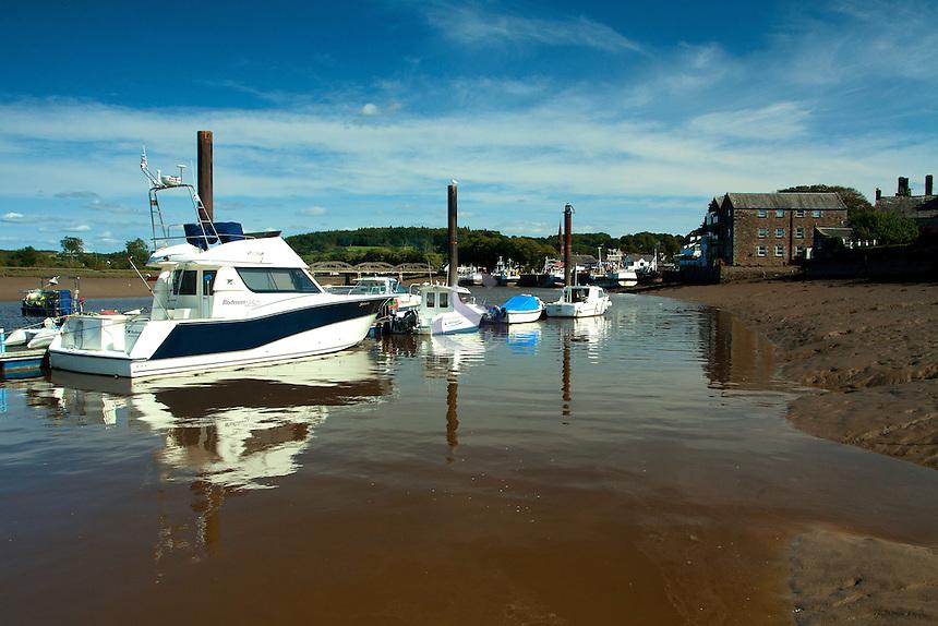Kircudbright Marina and the River Dee, Kirkcudbright, Galloway
