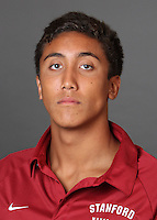 STANFORD, CA - AUGUST 31:  Ian Gamble of the Stanford Cardinal during water polo picture day on August 31, 2009 in Stanford, California.