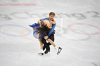 OLYMPIC GAMES: PYEONGCHANG: 20-02-2018, Gangneung Ice Arena, Figure Skating, Ice Dance Free Dance, Madison Shock and Evan Bates (USA), ©photo Martin de Jong
