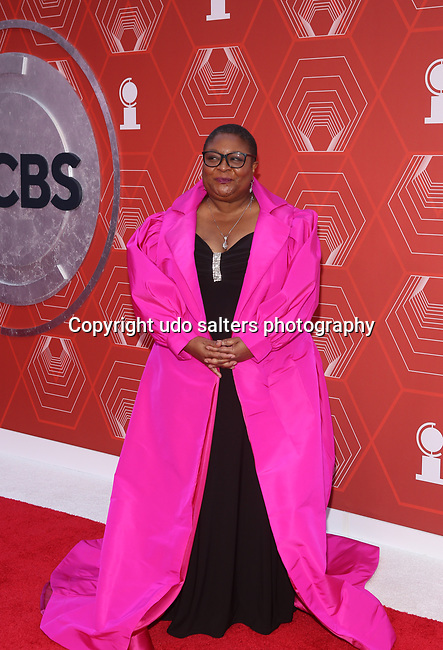 Myra Lucretia Taylor attends the 74th Tony Awards-Broadway's Back! arrivals at the Winter Garden Theatre in New York, NY, on September 26, 2021.