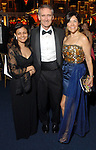 Maryana Iskander with Scott W. and Geraldina Wise at the Rice University Shepherd School of Music gala Thursday Feb. 19, 2009.(Dave Rossman/For the Chronicle)