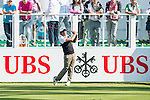 Juice Pagunsan of Philippines tees off the first hole during the 58th UBS Hong Kong Golf Open as part of the European Tour on 10 December 2016, at the Hong Kong Golf Club, Fanling, Hong Kong, China. Photo by Marcio Rodrigo Machado / Power Sport Images