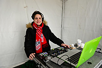 Harrison, NJ - Sunday March 04, 2018: DJ during a 2018 SheBelieves Cup match match between the women's national teams of the United States (USA) and France (FRA) at Red Bull Arena.
