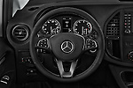 Car pictures of steering wheel view of a 2018 Mercedes Benz Metris Cargo-Van 4 Door Cargo Van Steering Wheel