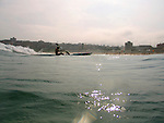 Paddle Board training at Bondi Beach.