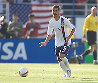 Benny Feilhaber looks for a teammate. The USA defeated China, 4-1, in an international friendly at Spartan Stadium, San Jose, CA on June 2, 2007.