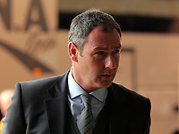 Swansea manager Paul Clement arrives prior to the Premier League match between Sunderland and Swansea City at the Stadium of Light, Sunderland, England, UK. Saturday 13 May 2017