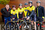 Liam Hurley, Damien Culhane, Sonny Cahill, Paddy Sweeney, Sean Harold and Declan McCarthy from the Newcastlewest Cycling club at the Lacey Cup cycling on Sunday.