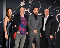 """LOS ANGELES, USA. October 30, 2019: Rebecca Ferguson, Mike Flanagan, Ewan McGregor & Trevor Macy at the US premiere of """"Doctor Sleep"""" at the Regency Village Theatre.<br /> Picture: Paul Smith/Featureflash"""