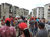 Recife (PE), 20/07/2021 - Violencia-Recife - Ocupação Nelson Mandela no às margens da BR-101 no bairro do Jordão em Recife onde no último domingo (18) um morador foi baleado por homens armados que invadiram a ocupação. O militante que foi baleado segue internado no Hospital da Restauração, no Recife, mas está fora de perigo.