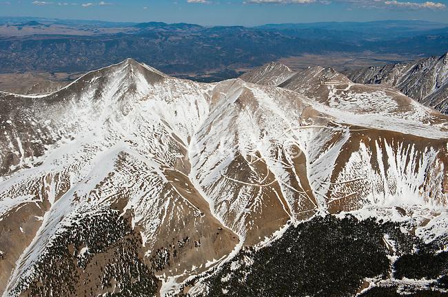 Sangre de Cristo mountain range.