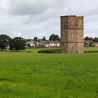 19th. Century Folly (Octagonal Tower), by George Head Head.  Rickerby, near Carlisle, England, UK.